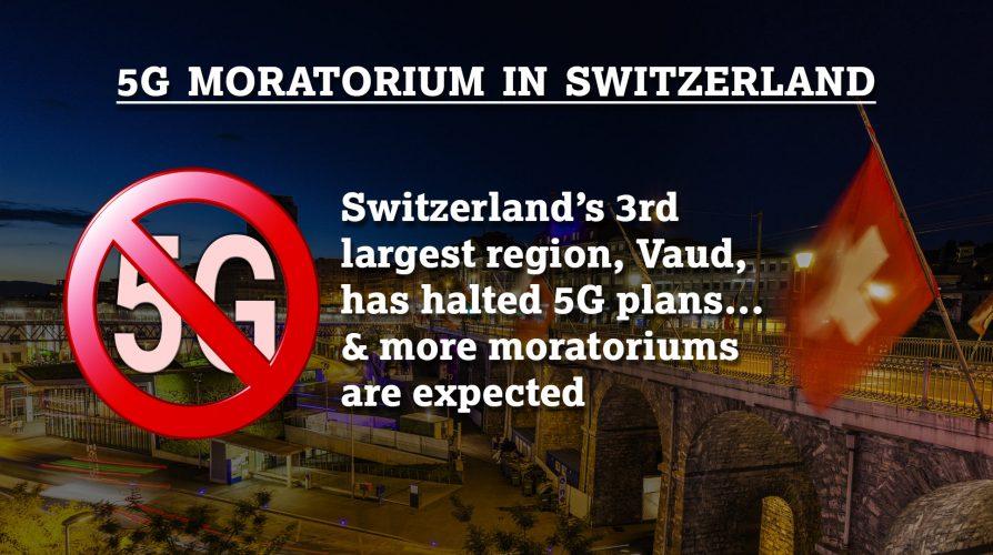 5G: Vaud (Switzerland) Adopts Resolution for a Moratorium