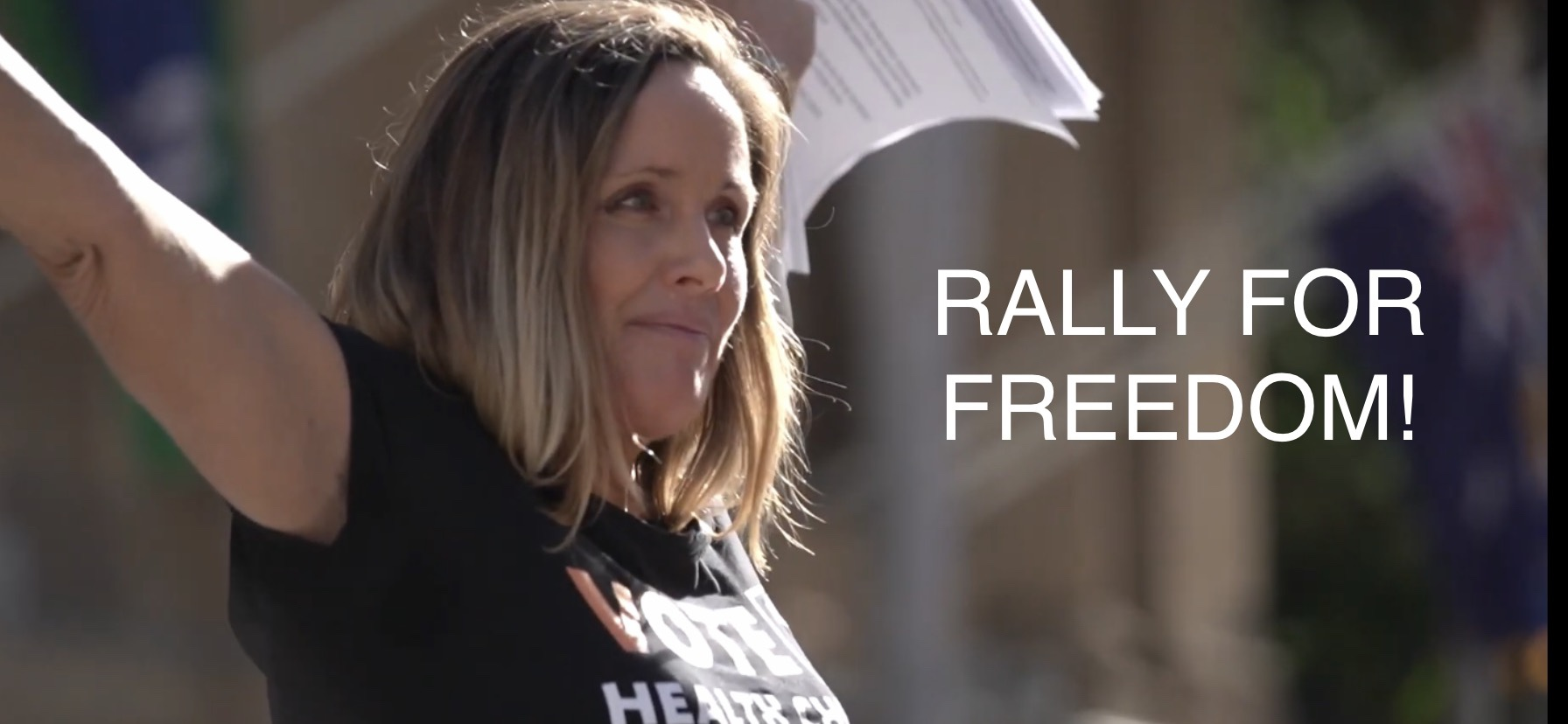 Rally for Freedom – Brisbane May 30, 2020